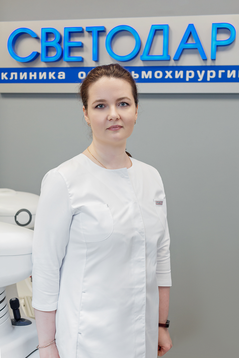 Have an examination with an eye doctor in the Ivanovo clinic on Smirnova street, 42/2